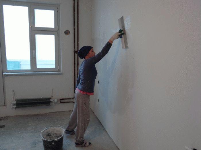 Миниатюра к статье Обшиваем стены гипсокартоном своими руками