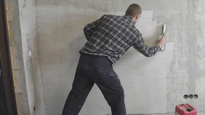 Миниатюра к статье Грунтовка стены перед поклейкой обоев