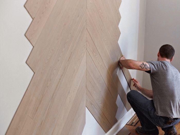 Миниатюра к статье Жидкие обои как наносить на стену